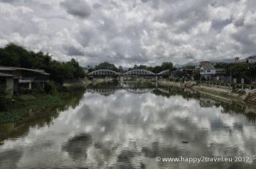 Rieka pri meste Lampang