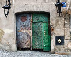 V bránach a podchodoch mesta Lublin