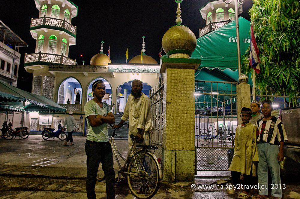 Mešita v Maesot slúži moslimským utečencom z Barmy z regiónu Karen