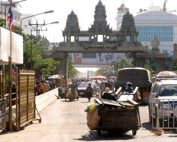 Hranice kambodžského kráľovstva