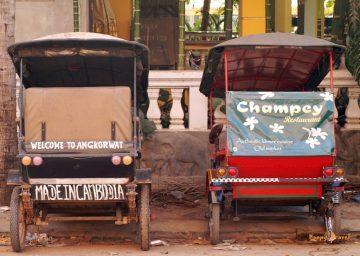 Tuk-tuk je v juhovýchodnej Ázii najobľúbenejší dopravný prostriedok