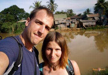 Siem Reap, Kambodža, Prvý sviatok vianočný roku pána 2007