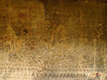 Výjavy z pekla. Angkor Wat, Kambodža