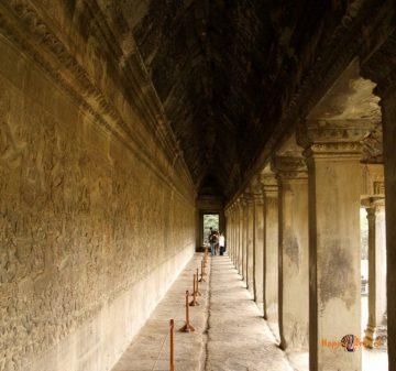 Chodby svätyne Angkor Wat, Kambodža