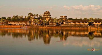 Angkor Wat, Kambodža: hlavný chrámový komplex