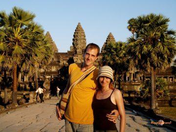 Vianoce v svätyniach Angkor Wat, Kambodža