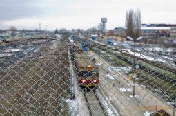 Železničné zátišie v Ostrowci