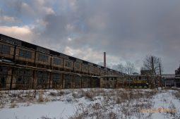 Ostrowiecka Huta, pýcha komunistického priemyslu. Dnes mesto ruín.