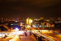 Farby noci v Ostrowci