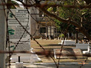 Prvý pohľad na miesto masových vrážd a mučenia, bývalé tajné väzenie červených Khmérov S-21