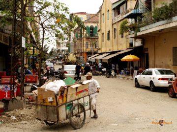 V uliciach Phnom Penh, hlavného mesta Kambodže
