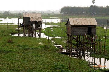 Kambodžský vidiek