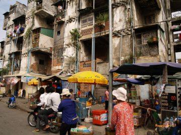 Phnom Penh, hlavné mesto Kambodže