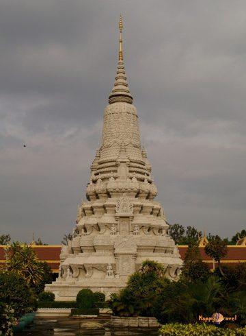Strieborná pagoda v hlavnom meste Kambodže