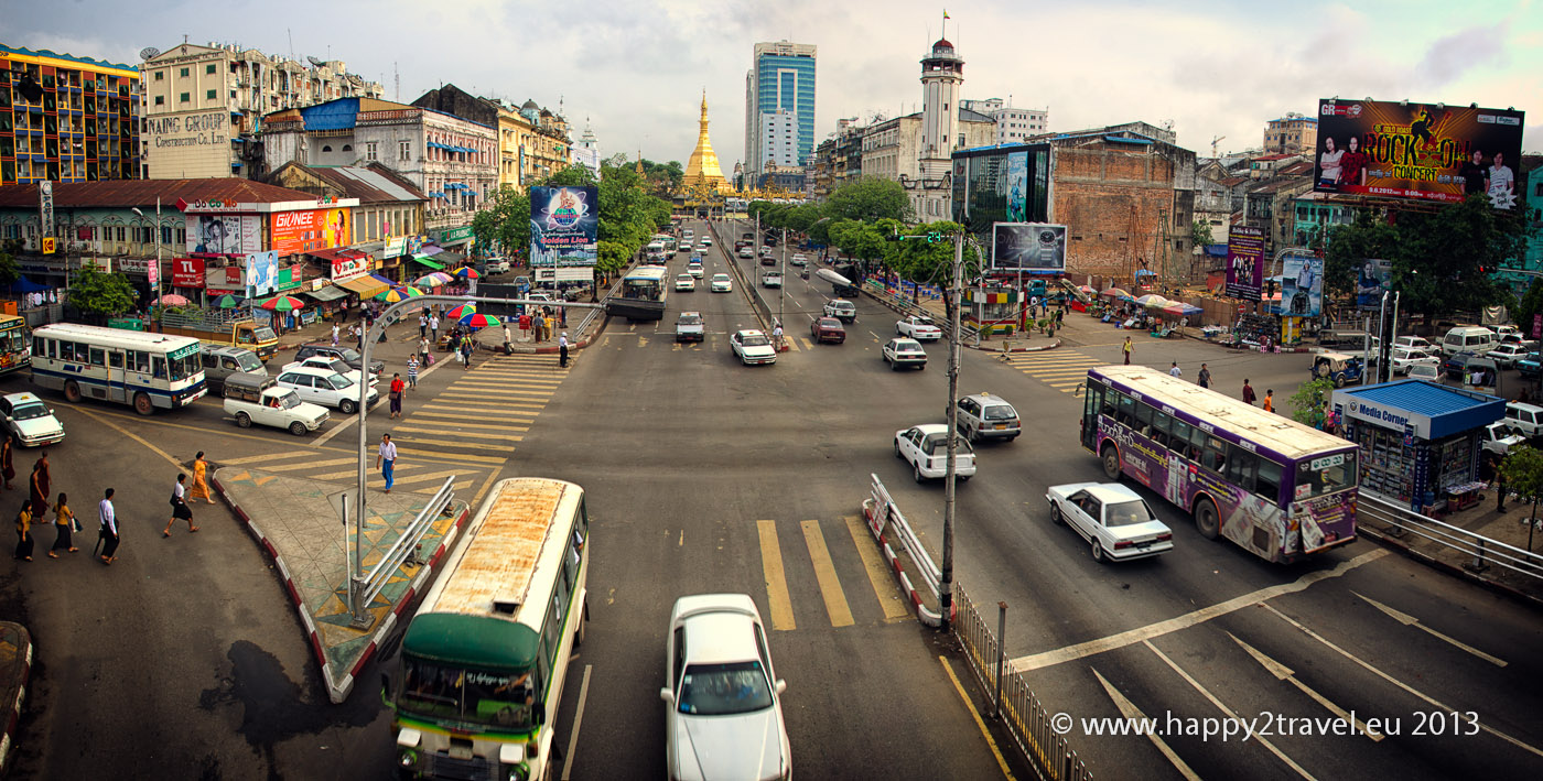 V centre Rangúnu