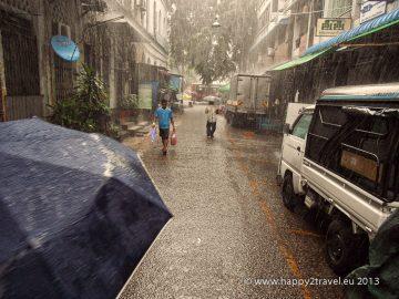 Prvé dni monzúnu