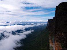 Posledné výhľady z Roraímy: na Amazonku