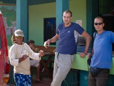 Prípravy na cestu na Roraímu. So prievodcom Puri Puri a Angličanom Mattom