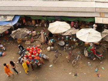 Na kambodžskom mestskom trhu