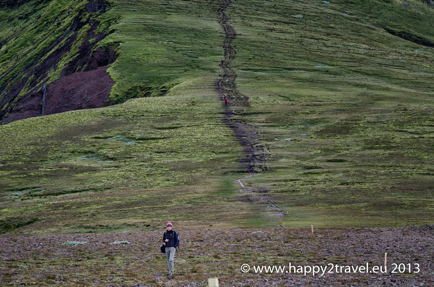 Výstup k ľadovcu Vatnajökull