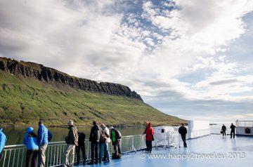 Príchod do východoislandského prístavu Seyðisfjörður na palube majestátnej Norrøny