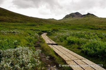 Cestou k ľadovcu Vatnajökull