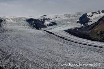 Jeho výsosť Vatnajökull, najväčší európsky ľadovec
