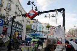 Madrid v znamení sociálnych protestov