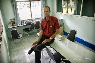Austrálčan Steve z cirkvi Adventistov siedmeho dňa
