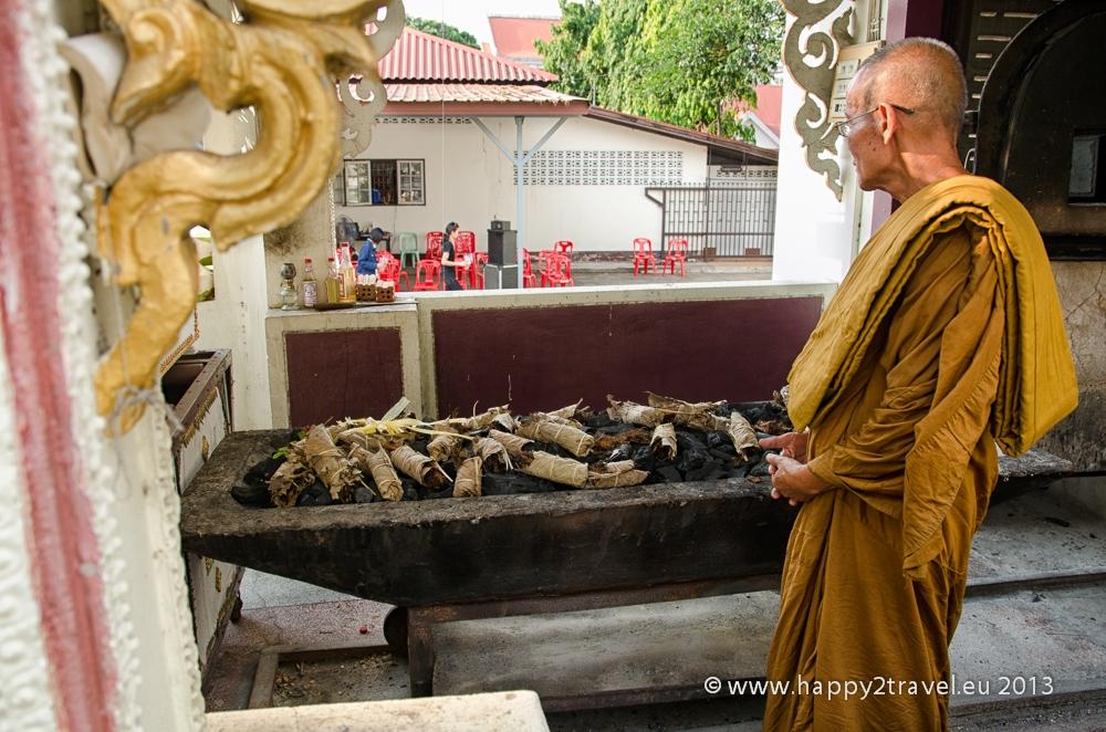 Budhistický pohreb: posledné minúty pred odchodom