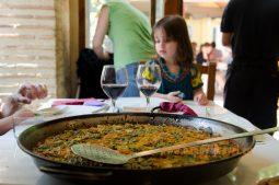 Tradičné valenciánske rizotto Paella
