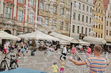 V uliciach Vroclavu