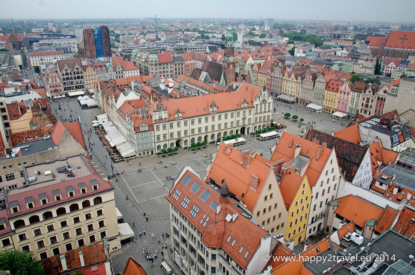 Historické centrum Vroclavu