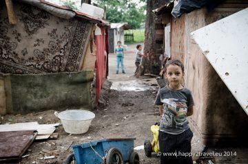Kočovisko rumunských Rómov